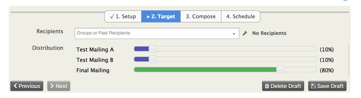 Enhancing Fundraising with CiviCRM A/B Testing - Choosing Your Targets